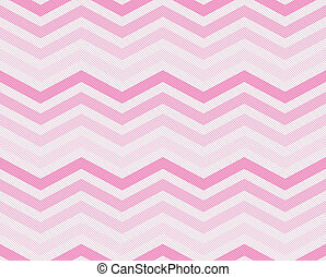 Pink Zigzag Textured Fabric Background that is seamless and...