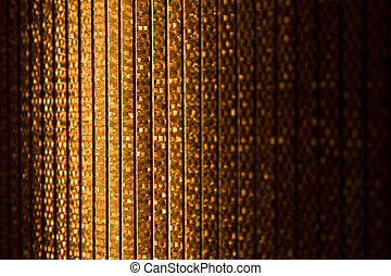 Halogen heater - Close up of a halogen or Infrared heater...
