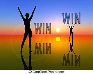 Win Win Situation for two women