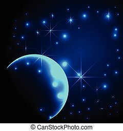 Starlight background - vector illustration of Starlight...