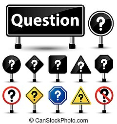 question mark symbol sign - vector illustration of question...