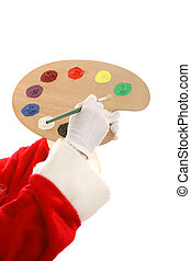 Santas Paint Palette