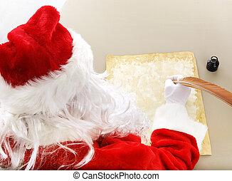 Santa Makes His List