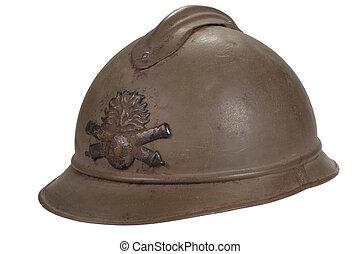 ruso, casco,  WW1, período