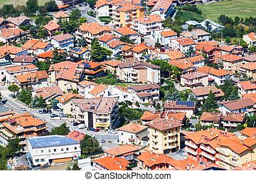 Modern San Marino Suburban districts