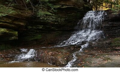 Honey Run Waterfall Loop - Seamless loop features Ohio's...