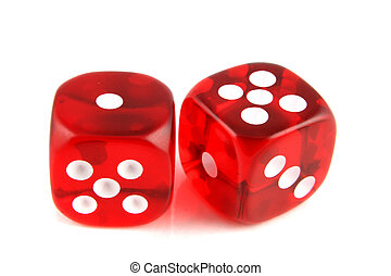 2 dice showing 1 and 5