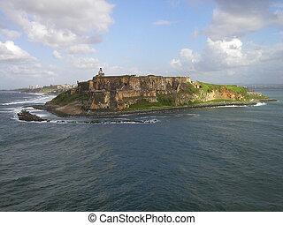 San Juan Puerto Rico from a cruise ship
