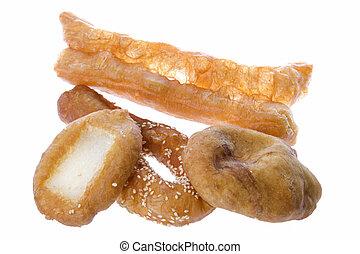 Malaysian Fried Pastries - Isolated image of Malaysian fried...