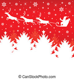 Christmas congratulatory card - Congratulatory card with...