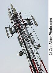 Transmitter - Top of GSM transmitter tower