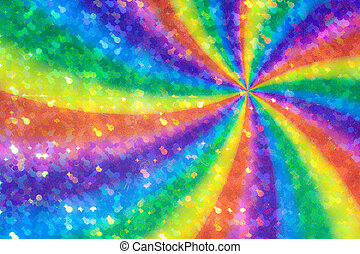 pinwheel - Image of the abstract colorful background -...