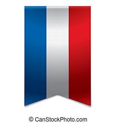 Ribbon banner - dutch flag