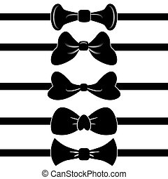 Bowtie Banner Set - An image of a set of bowties.