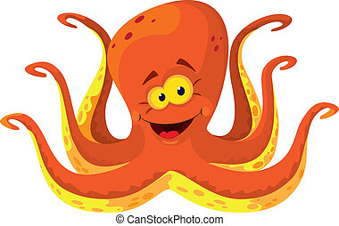 big octopus - illustration of a big octopus