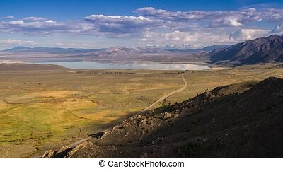 Shadow of Clouds at Mono Lake - Time Lapse Shadow of Clouds...