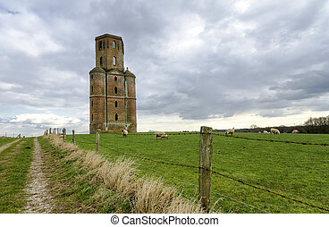 Horton Tower - An old ruined tower in Horton, Dorset,...