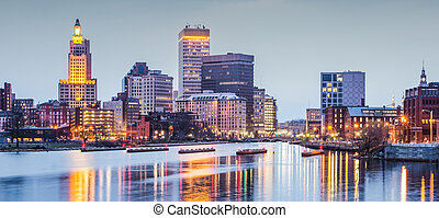 Providence Rhode Island - Providence, Rhode Island downtown...