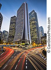 Shinjuku, Tokyo, Japan - Tokyo, Japan cityscape at the...
