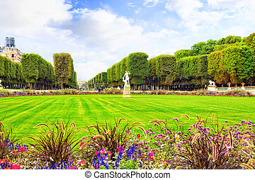 Luxembourg GardenJardin du Luxembourg in Paris, France