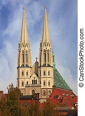 Temple in Goerlitz - St. Peter and Paul church in Goerlitz...