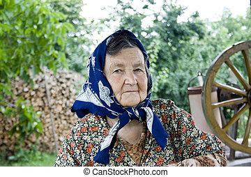antigas, mulher