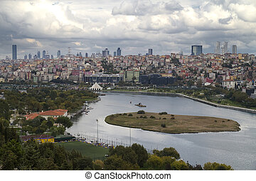 Istanbul  Turkey View from Golden Horn