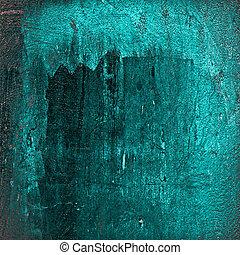 Turquoise grunge background