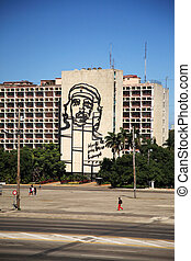 Revolution Sqaure in Havana Cuba 9 January 2009