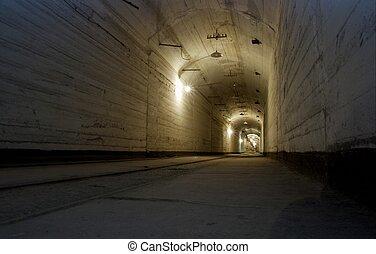 Undeground - Corridor of an underground base
