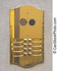 内線通話, ドア