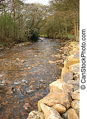 River Gelt, Cumbria - River Gelt in Cumbria North England in...