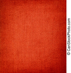 Red vignetted textile background