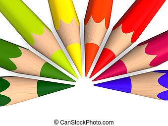 same crayons