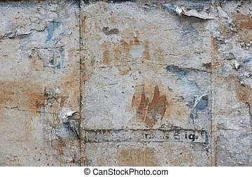 Rough texture - Rough, grungy texture of an abandoned...