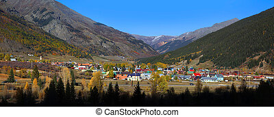 Silverton, Colorado - SILVERTON,COLORADO -OCTOBER 5:...