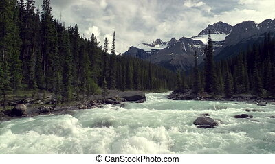 Mistaya Canyon - The Mistaya Canyon in Banff National Park