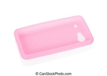 smartphone, cubierta, espalda