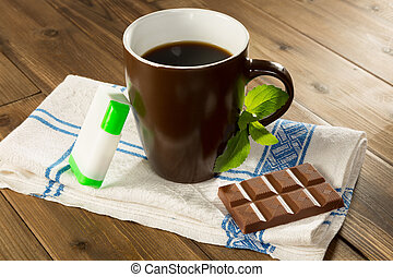Stevia tabs and chocolate - Belgian chocolate made with...