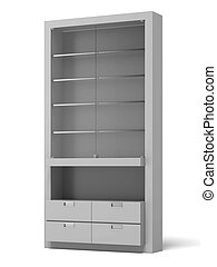 Transparent Store Shelves