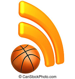RSS Basketball Feed - 3D Concept And Presentation Figure