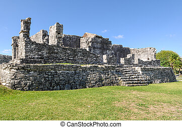 Mayan Ruins in Tulum Mexico