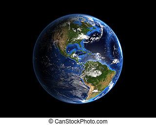 planeta, terra, Hi-Res