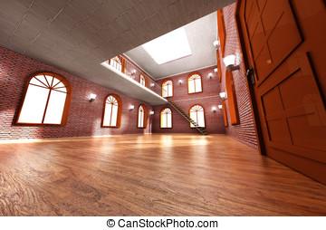 Loft Interior - Architecture visualization of a Loft...