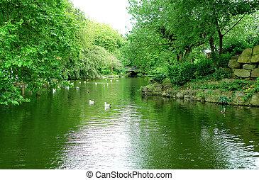 St Stephen's Green park in Dublin