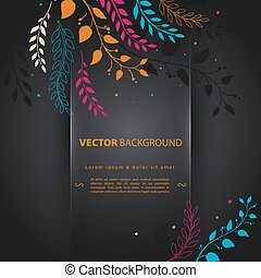 Design template back