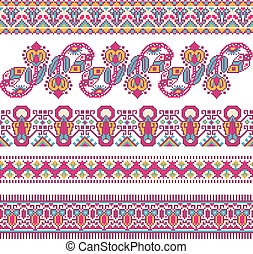 cross-stitch ethnic Ukraine pattern - embroidered good like...
