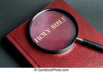 Searching Answers - Loupe on a Bible If youre searching for...