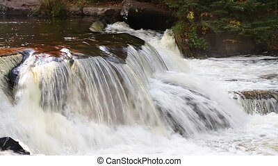 Whitewater Cascade Loop - Loop features water cascading over...