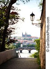 View of the Prague, Czech Republic
